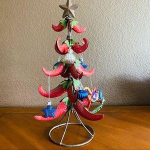 Vintage Metal Christmas Tree Tabletop